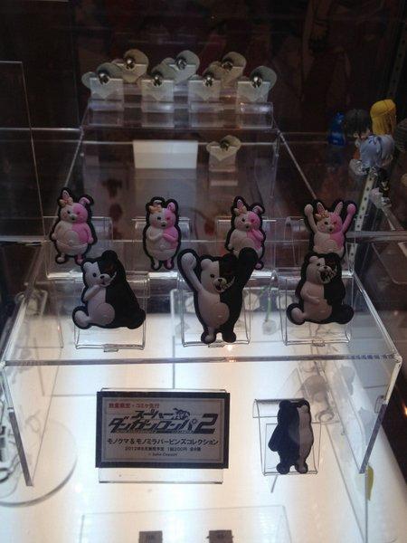 モノクマとモノミのラバーピンズコレクション