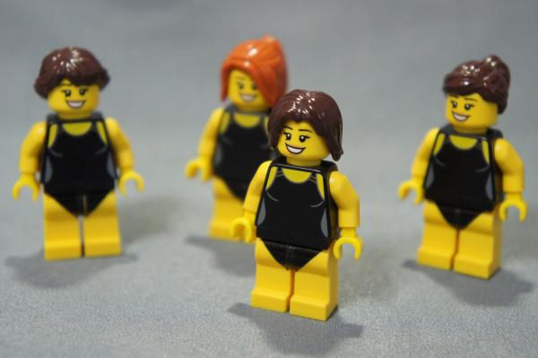 水着なう レゴ