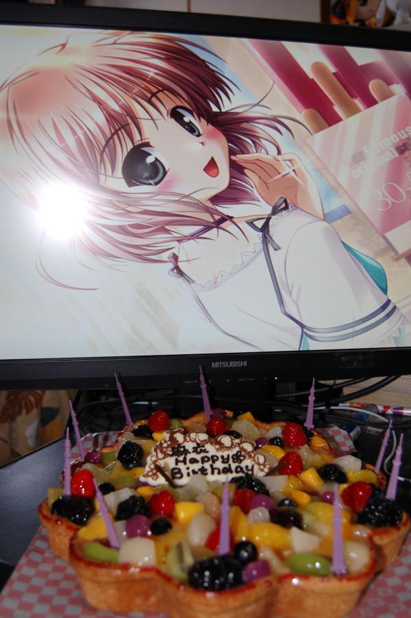 朝霧麻衣ちゃん生誕祭とケーキ