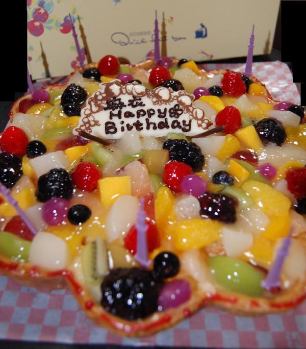 朝霧麻衣ちゃん生誕祭ケーキ