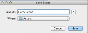 unity-save-scene-as